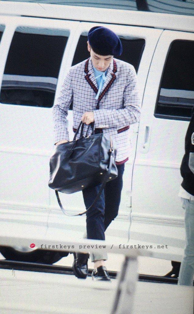 [IMG/160715] Jonghyun, Key @ Aeropuerto Incheon hacia Japón. UOhlaeEX