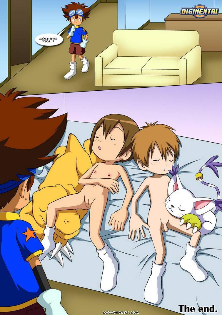 Zoofilia gay en Digimon XXX