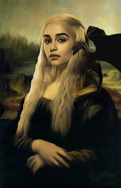 Pinturas famosas, como las ven los taringueros