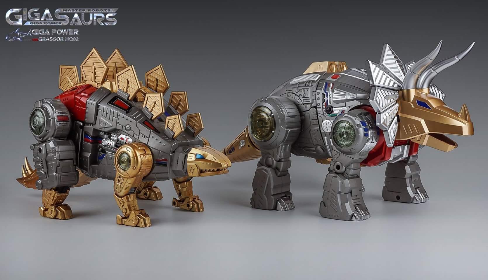 [GigaPower] Produit Tiers - Jouets HQ-01 Superator + HQ-02 Grassor + HQ-03 Guttur + HQ-04 Graviter + HQ-05 Gaudenter - aka Dinobots - Page 5 CyxRRyKp