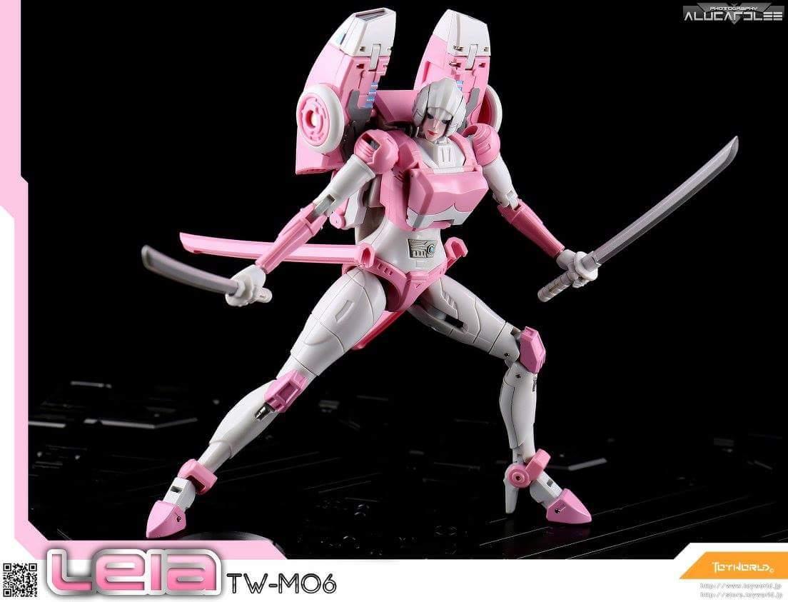 [Toyworld][Zeta Toys] Produit Tiers - Jouet TW-M06 Leia / Zeta-EX05 ArC aka Arcee/Arcie U1qrQ6Ue