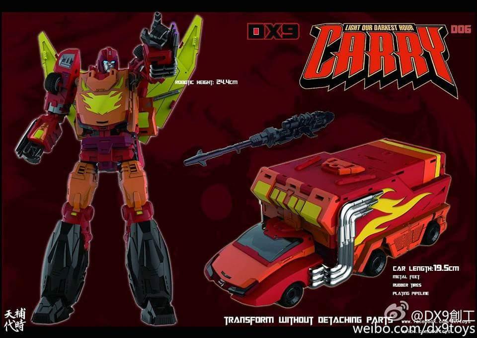[DX9 Toys] Produit Tiers - Jouet D-06 Carry aka Rodimus et D-06T Terror aka Black Rodimus BhNcwCnv