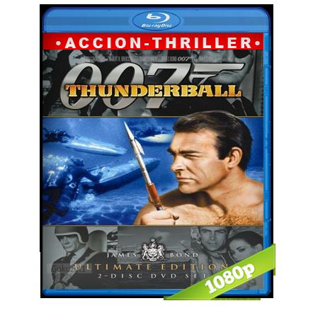 007 Operacion Trueno (1965) BRRip Full 1080p Audio Trial Latino-Castellano-Ingles 5.1