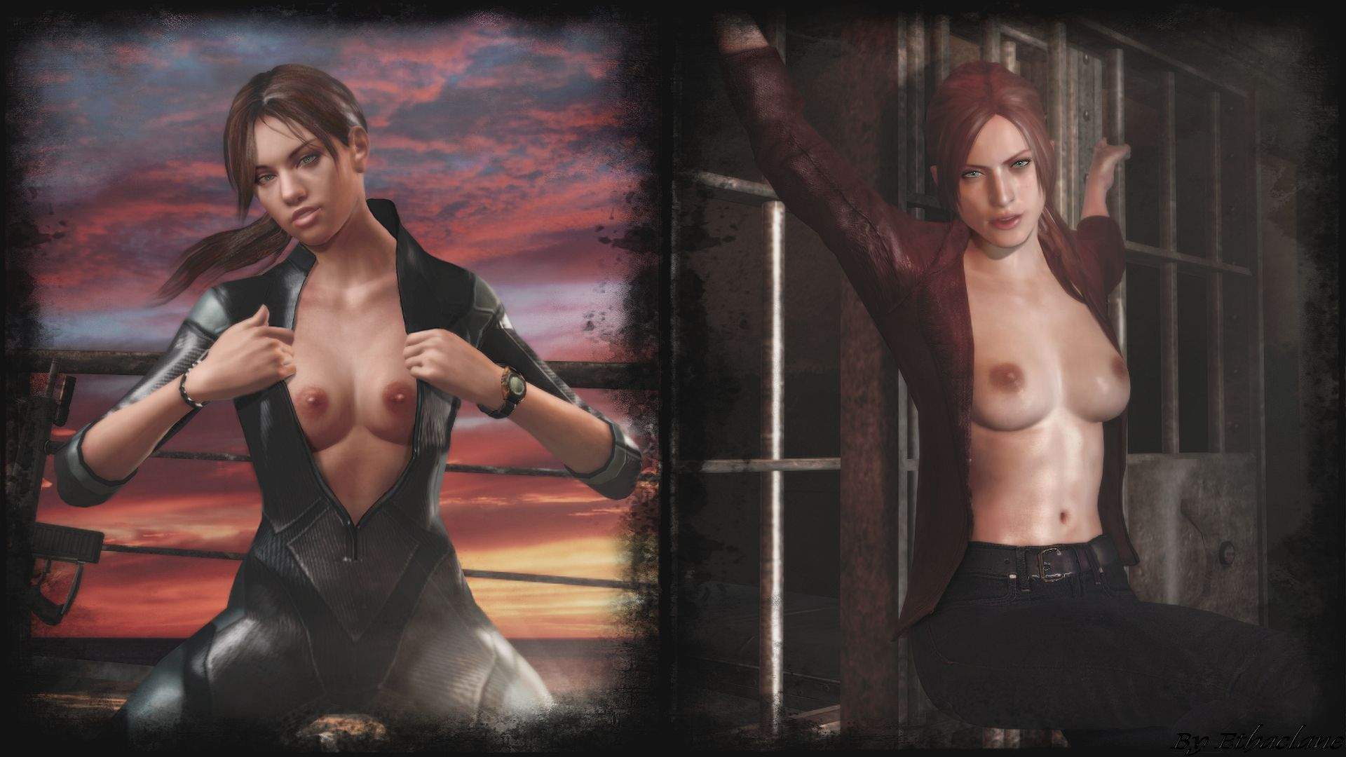 The girl from resident evil porn girl naked photo