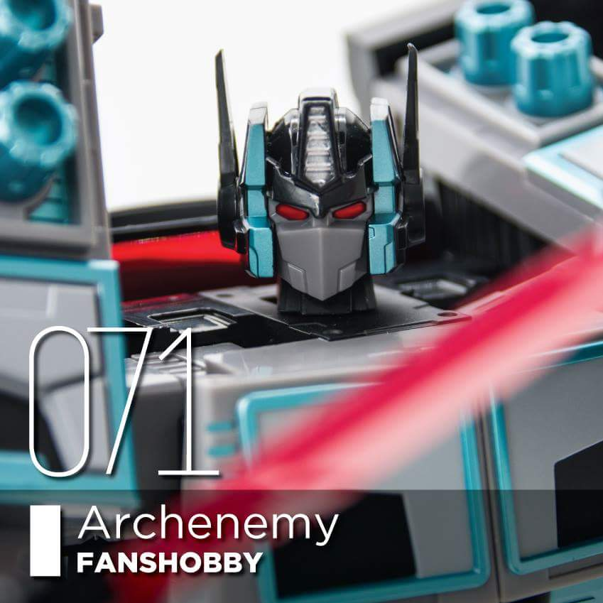 [FansHobby] Produit Tiers - Master Builder MB-01 Archenemy (aka Scourge RID 2000),  MB-04 Gunfighter II (aka Laser Optimus G2) et MB-09 Trailer (remorque) 5FnmmgM6