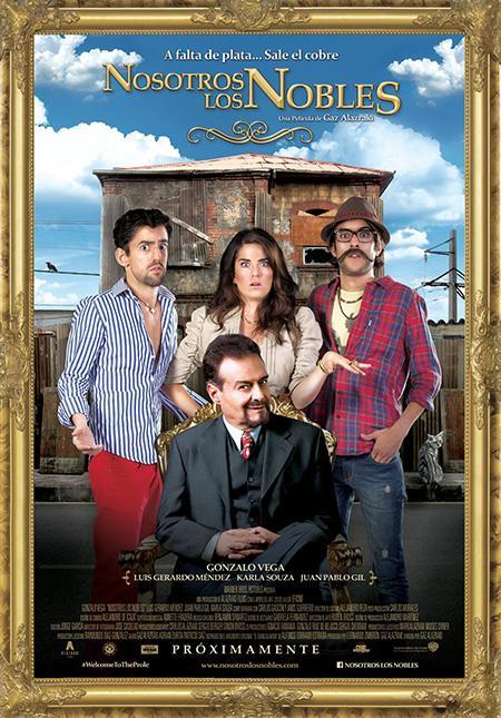 Nosotros los Nobles (2013)(DVDrip)(Latino)Multihost