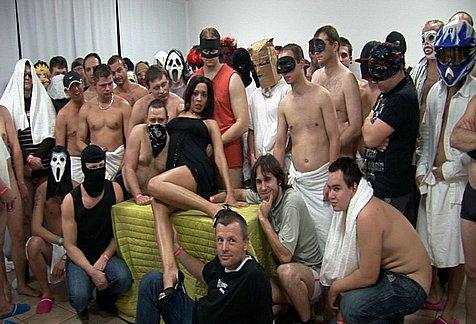 Los gangbangs de antes - 3 part 1
