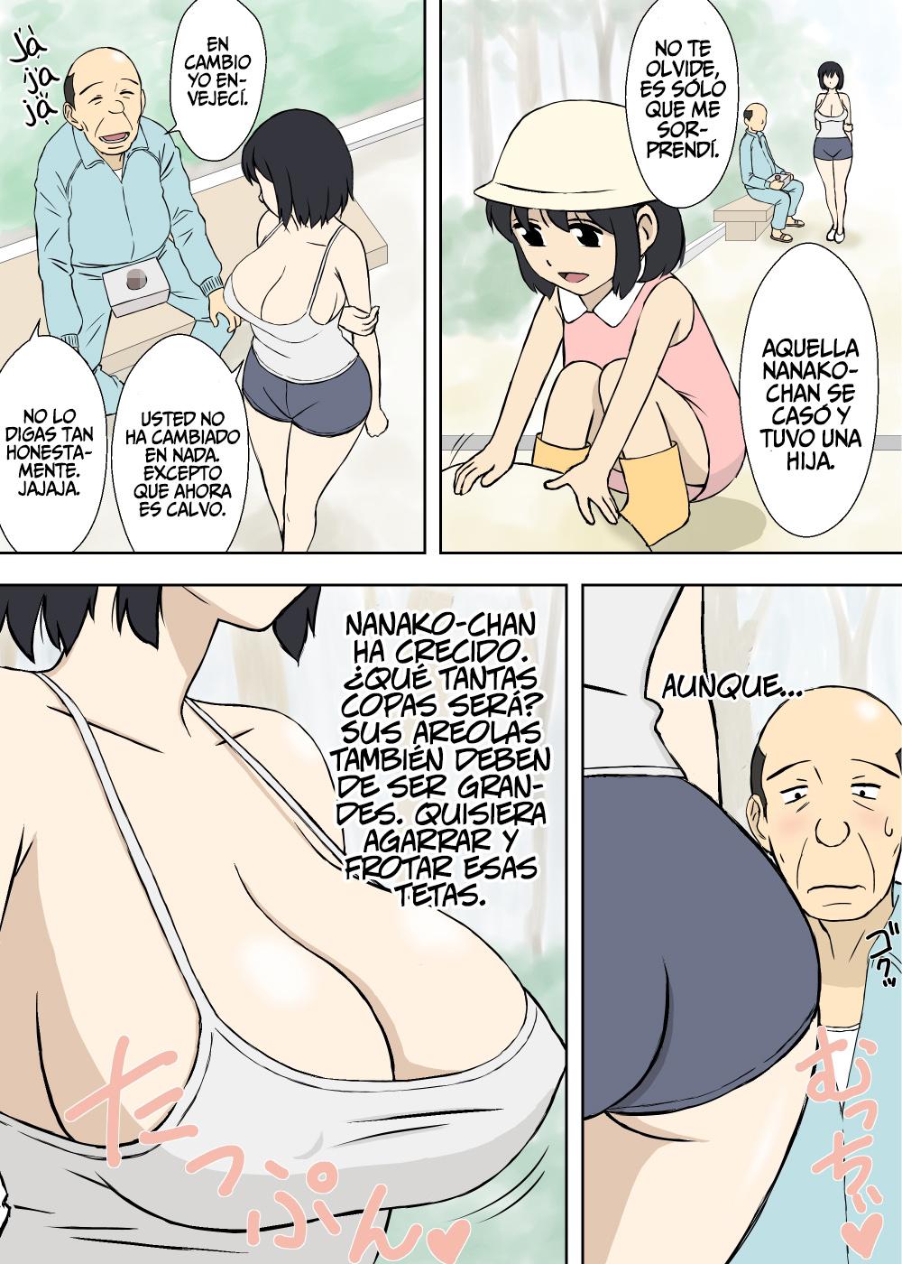 nude mamma son