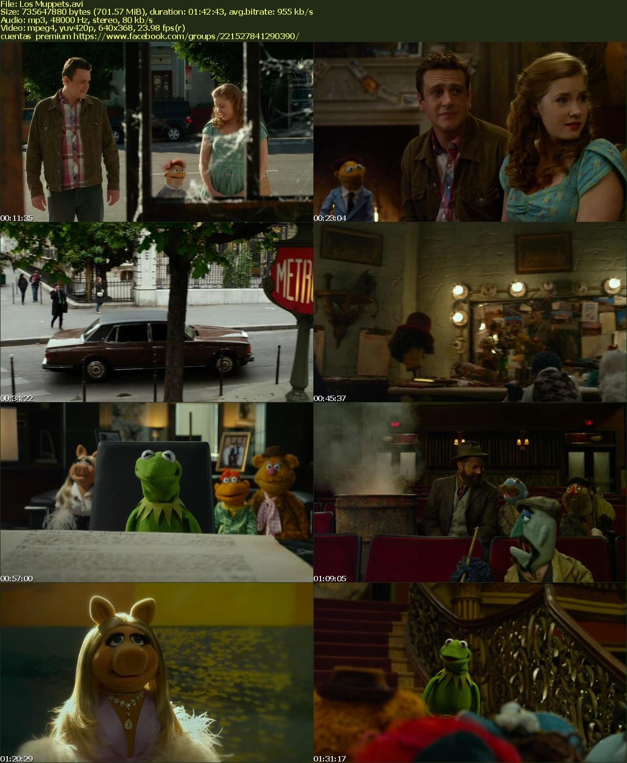 The Muppets Los Teleñecos La Rana Gustavo Triki El: Los Muppets [dvdrip][2011][accion][latino][putlocker