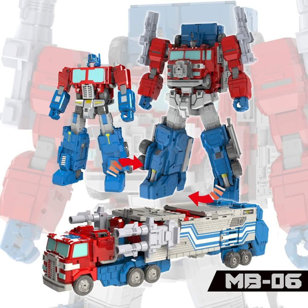 [FansHobby] Produit Tiers - MB-06 Power Baser (aka Powermaster Optimus) + MB-11 God Armour (aka Godbomber) - TF Masterforce DFOUZStB