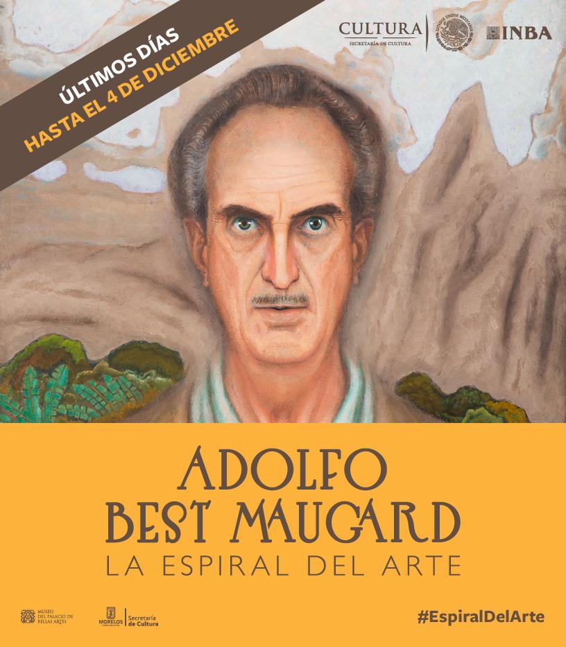 Últimos días de Adolfo Best Maugard. La espiral del arte