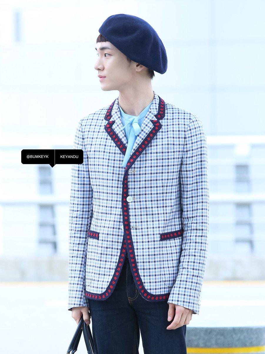 [IMG/160715] Jonghyun, Key @ Aeropuerto Incheon hacia Japón. JZbrKKKB