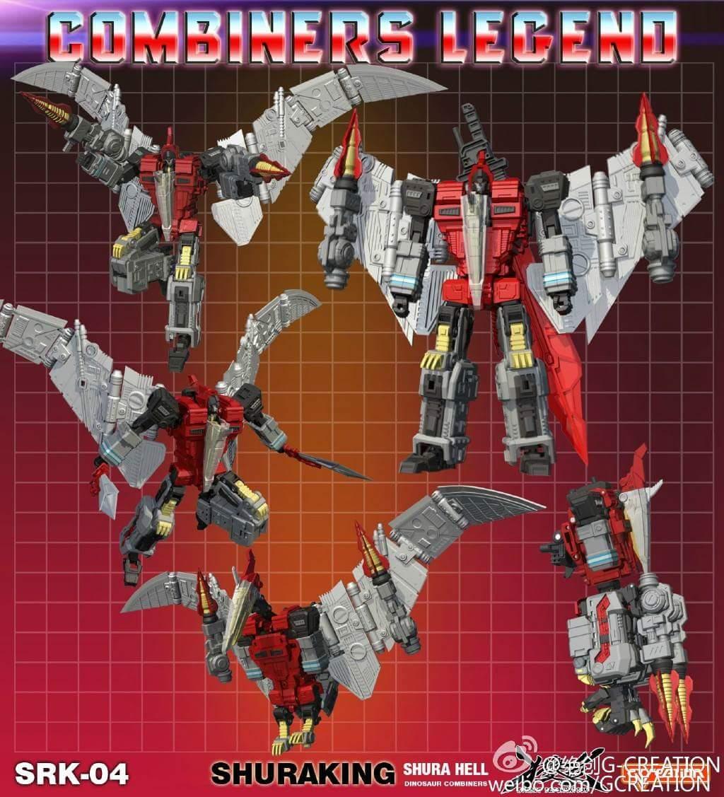 [GCreation] Produit Tiers - Jouet ShuraKing - aka Combiner Dinobots - Page 2 9NDaHiPS
