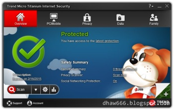 Trend Micro Titanium Internet Security 2014 Incl. Serial Until 2015