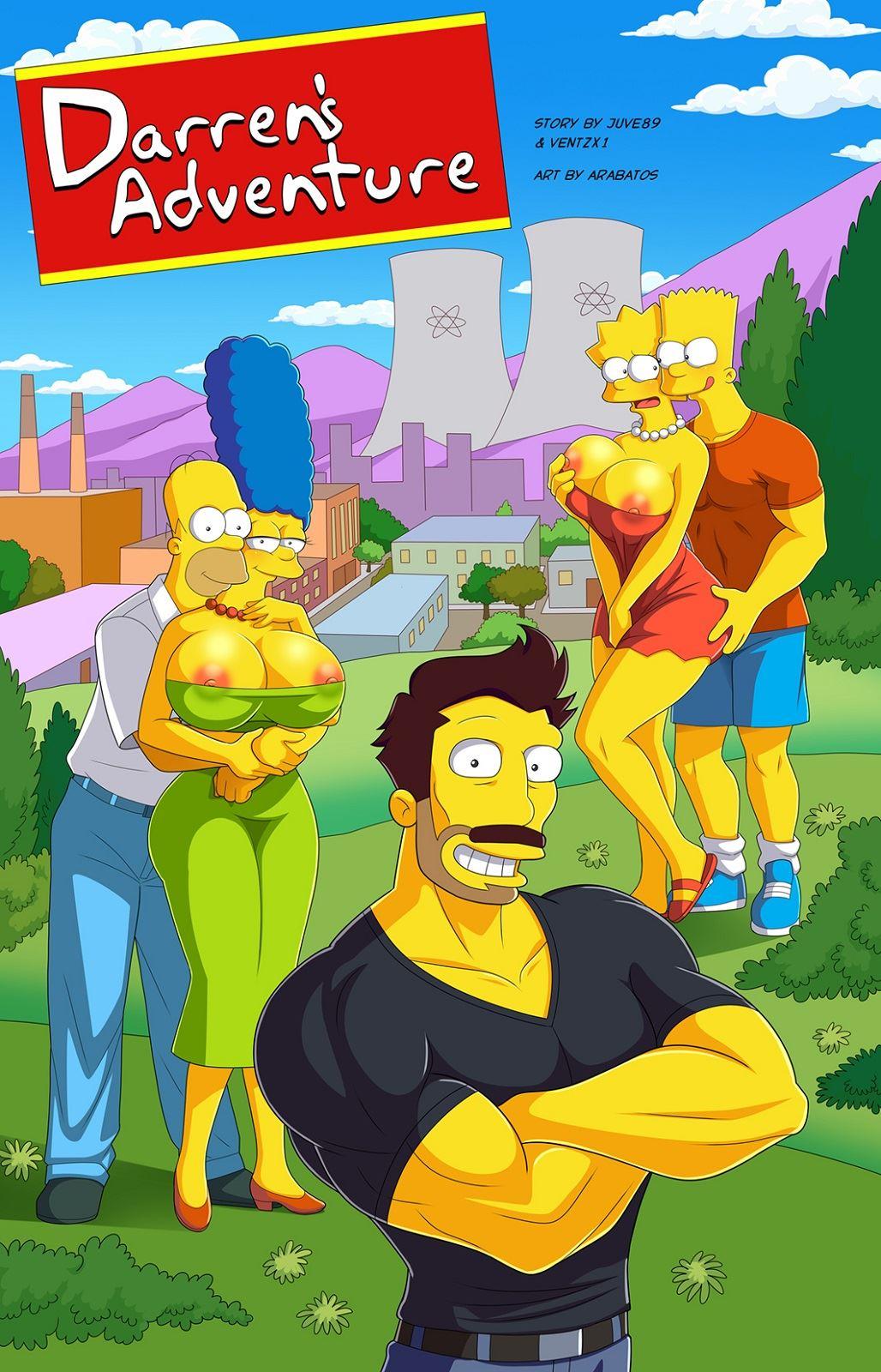 Los Simpsons XXX - La aventura de Darren