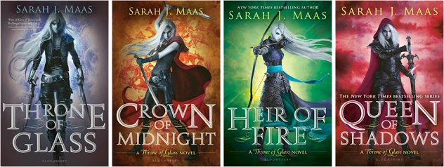 Throne of Glass series book cover