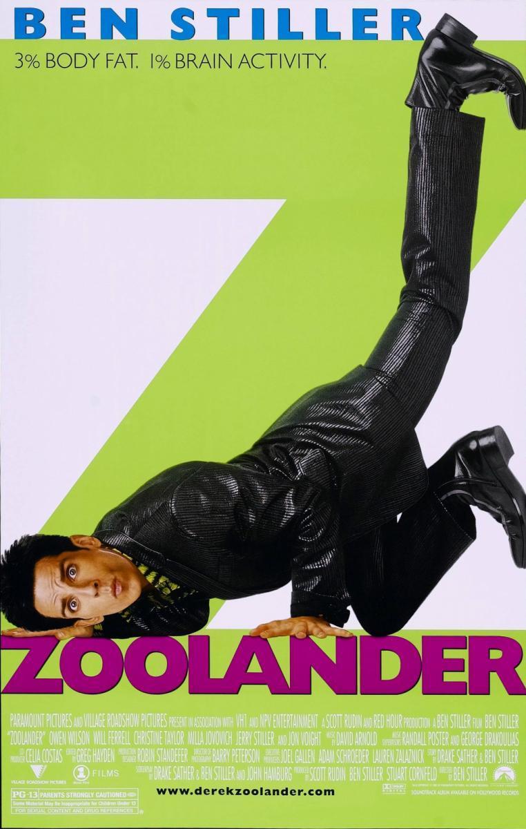 Zoolander, un descerebrado de moda