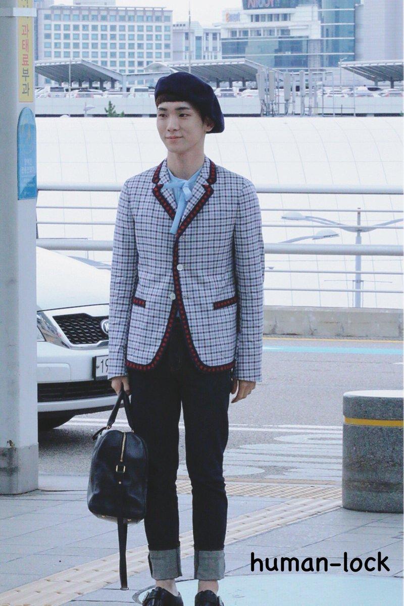 [IMG/160715] Jonghyun, Key @ Aeropuerto Incheon hacia Japón. 28zjGjlQ