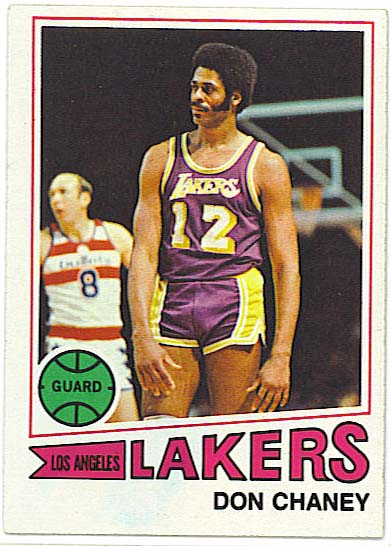 Don Chaney - 1978-79 Topps basketball