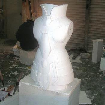 Processo de criação da Armadura de Gemeos para a exibição de Pachinko DgpWkyeP