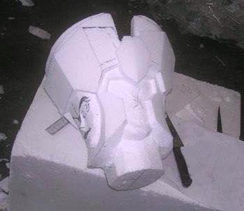 Processo de criação da Armadura de Gemeos para a exibição de Pachinko Hs0g3jDg