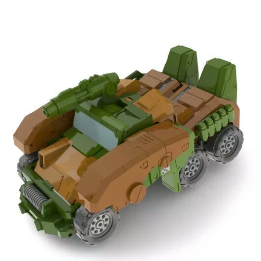 [FansHobby] Produit Tiers - Master Builder MB-07 Gun Buster - aka Roadbuster/Cahot des Wreckers IDW Jz2VOngS