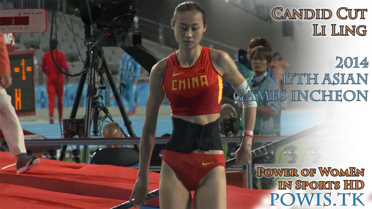 2014 Li Ling – 17th Asian Games Incheon – Candid Cut (Pole Vault)