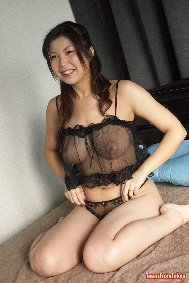 Marin asaoka in red lingerie is screwed a lot 7