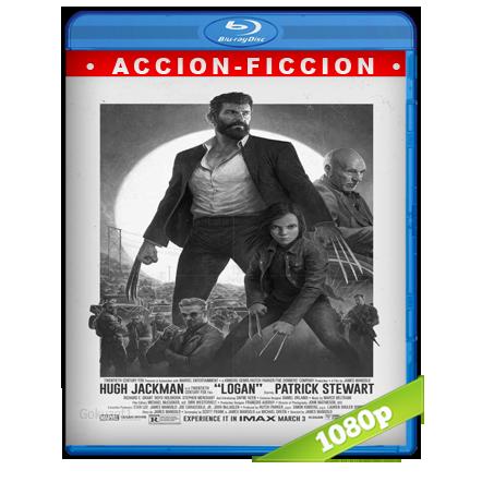 Logan Wolverine Noir (2017) BRRip Full 1080p Audio Trial Latino-Castellano-Ingles 5.1