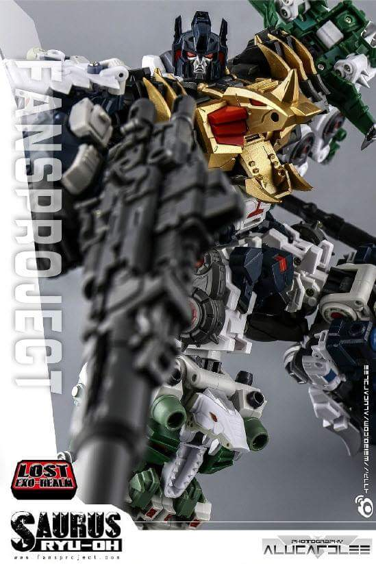 [FansProject] Produit Tiers - Jouet Saurus Ryu-oh aka Dinoking (Victory) | Monstructor (USA) - Page 2 EUiyP9LX