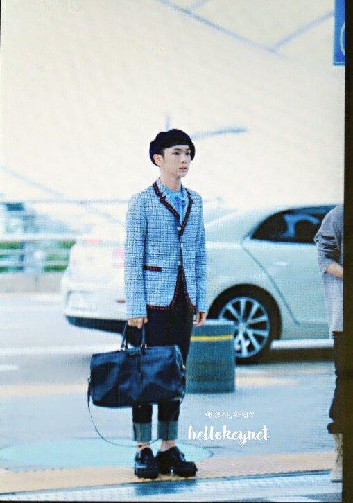 [IMG/160715] Jonghyun, Key @ Aeropuerto Incheon hacia Japón. NrKNAMa5