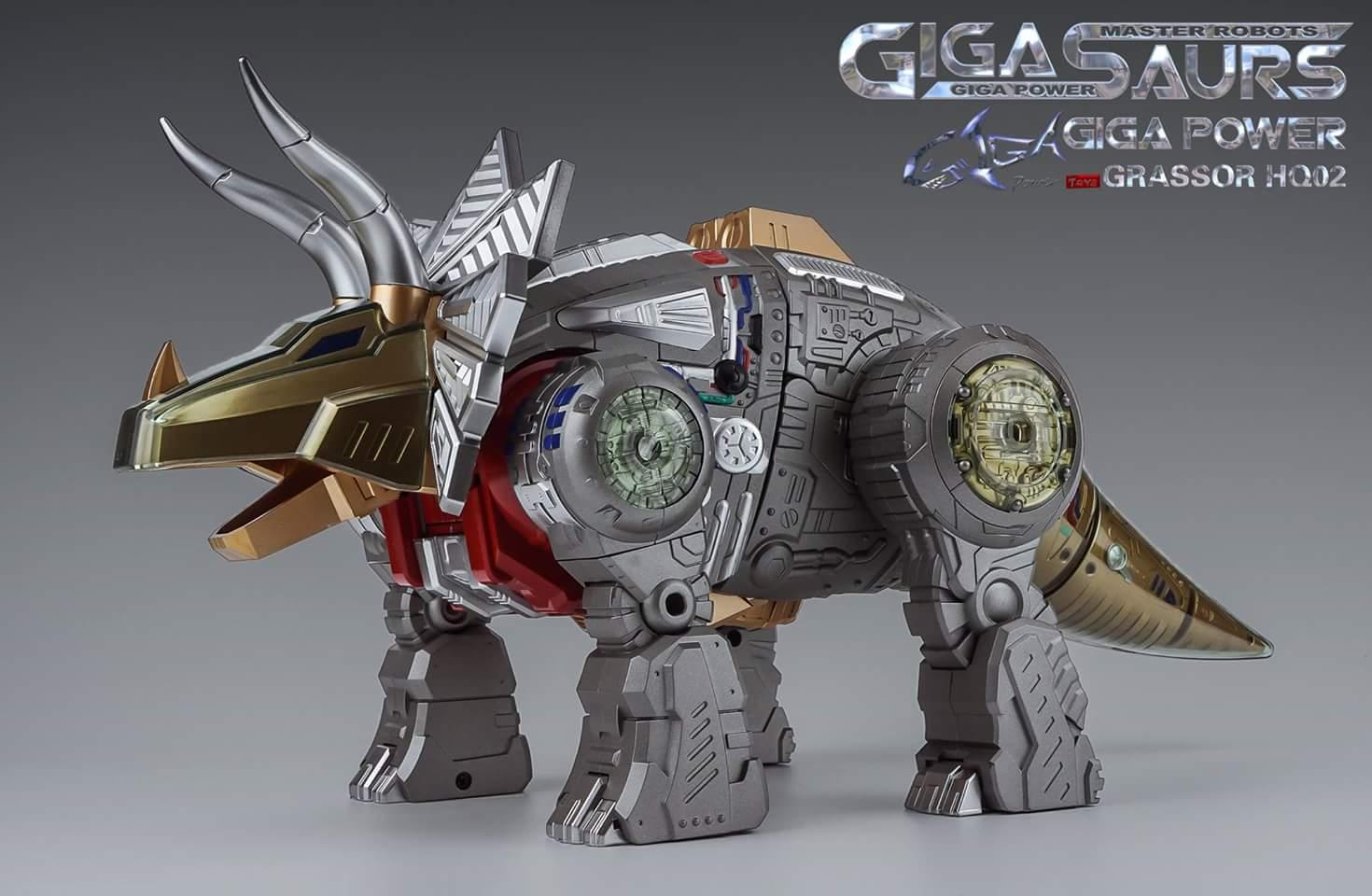 [GigaPower] Produit Tiers - Jouets HQ-01 Superator + HQ-02 Grassor + HQ-03 Guttur + HQ-04 Graviter + HQ-05 Gaudenter - aka Dinobots - Page 5 LpYIVhkt