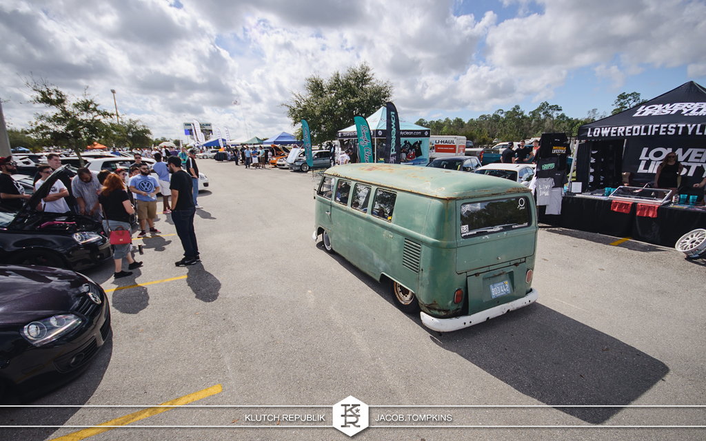air cooled vw bus patina