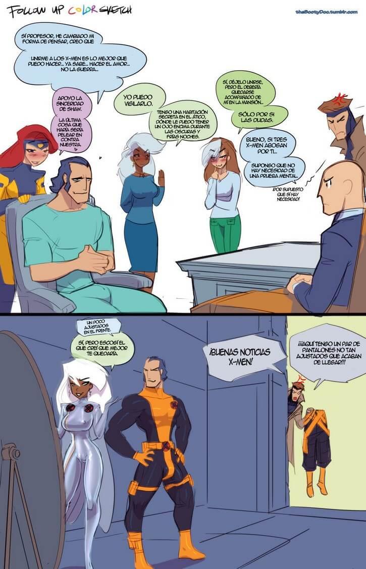 Rated X-Men Porno