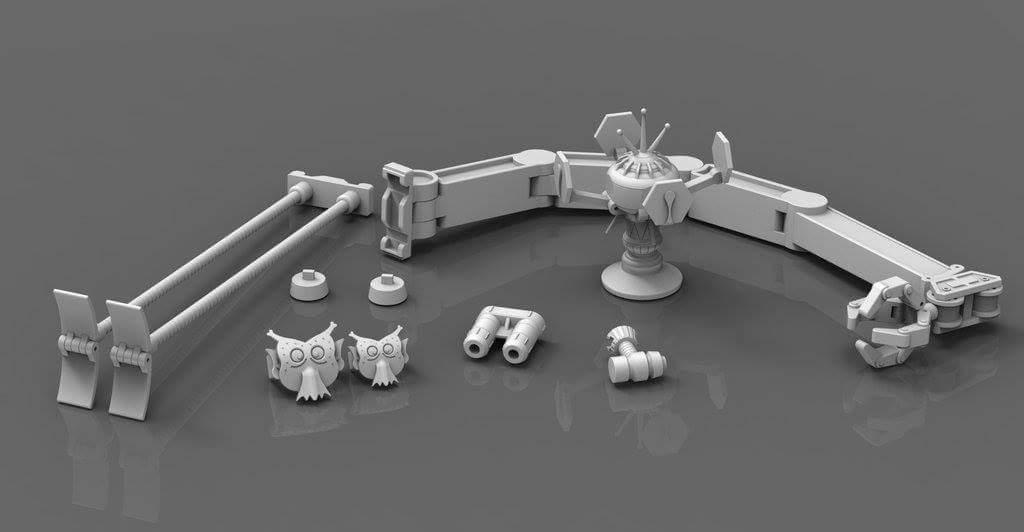 [X-Transbots] Produit Tiers - Jouet MX-X Paean - aka Hoist/Treuil NSDAgasX