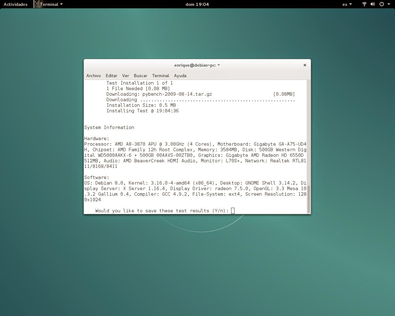 Debian 8 Jessie: impresionante fluidez