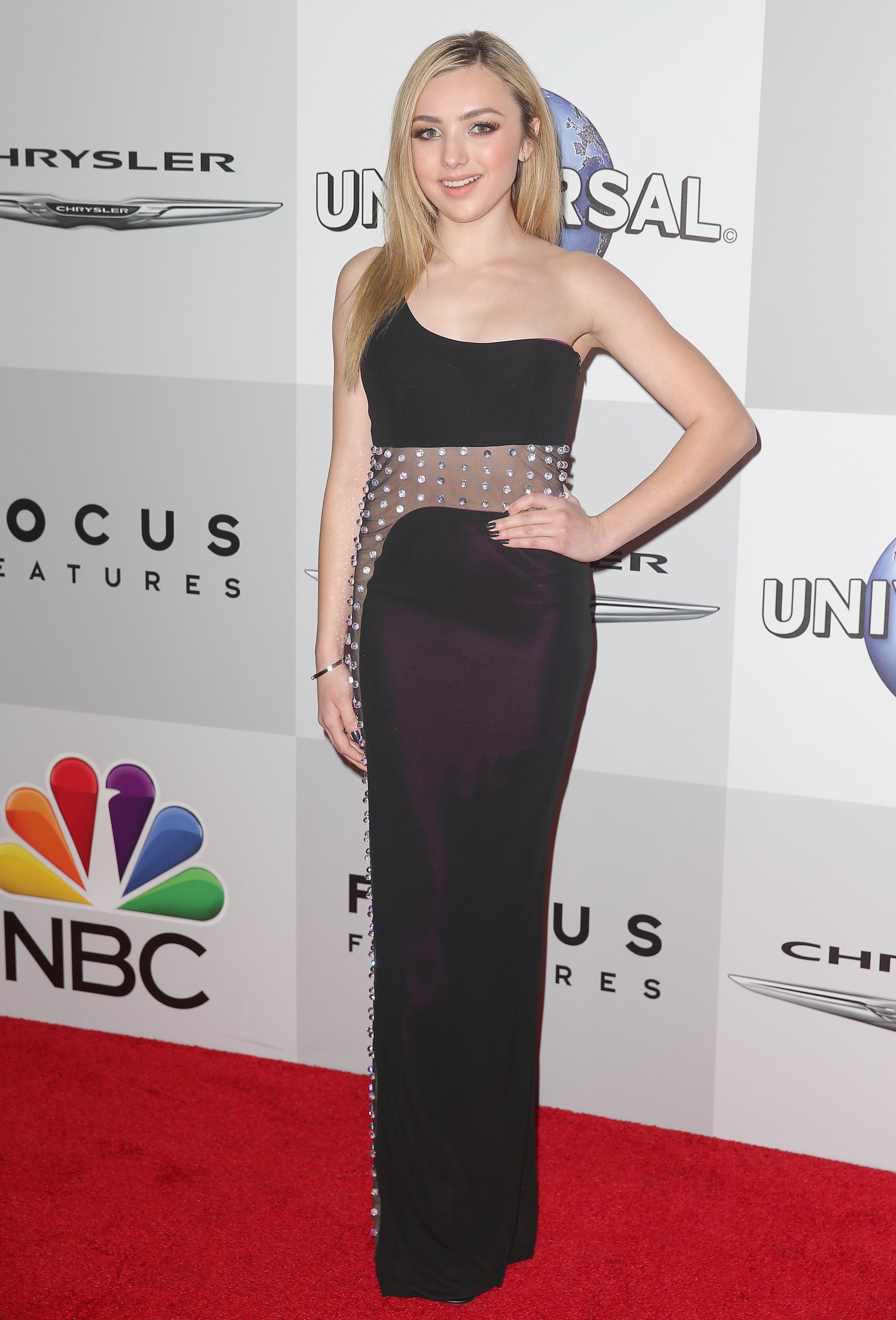 Golden Universal Tarot: Peyton List At NBC Universal Golden Globes After Party In
