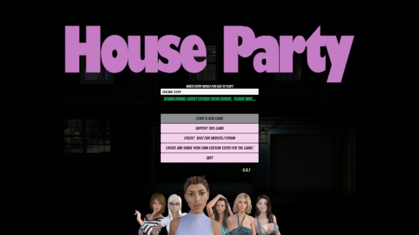 House Party - Version 0.6.1 - Eek Games