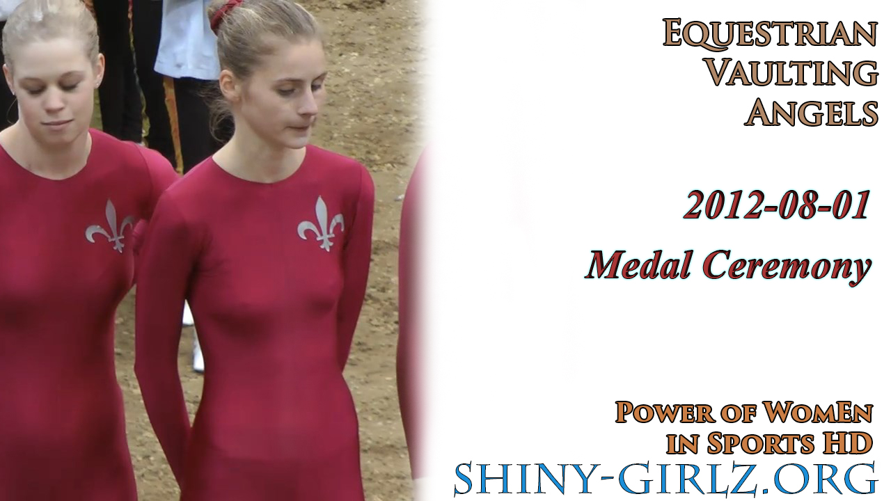 2012-08-01 – Vaulting Angels Medal Ceremony