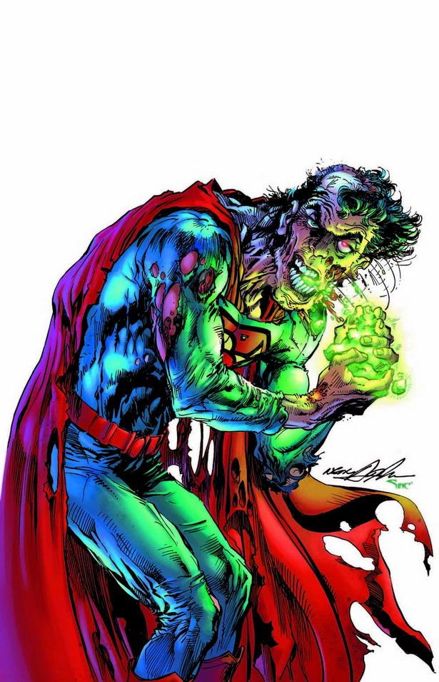 ¿Superman adicto a la kriptonita en la portada del ACTION COMICS nº35 por Jason Pearson?