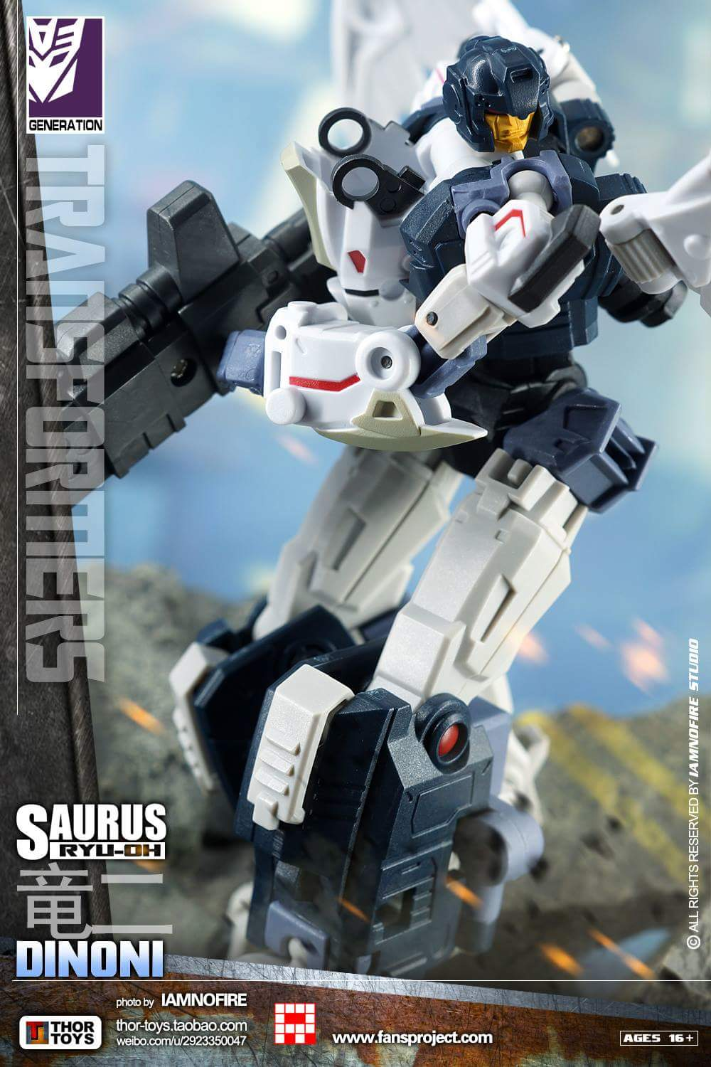 [FansProject] Produit Tiers - Jouet Saurus Ryu-oh aka Dinoking (Victory) | Monstructor (USA) - Page 2 Mngiqx6O