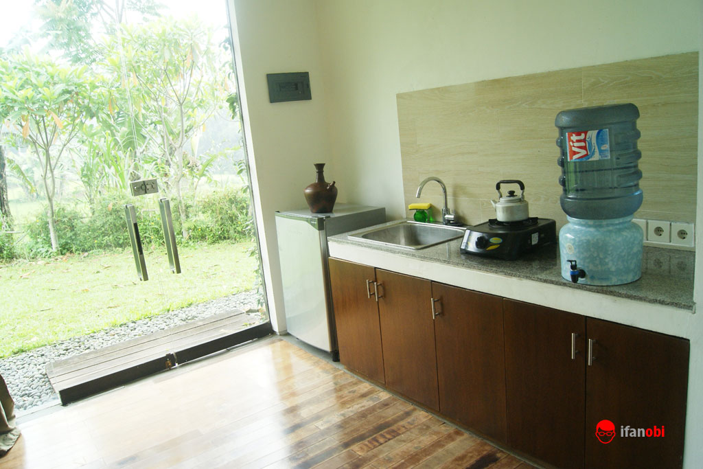 dapur di Tea Garden Resort