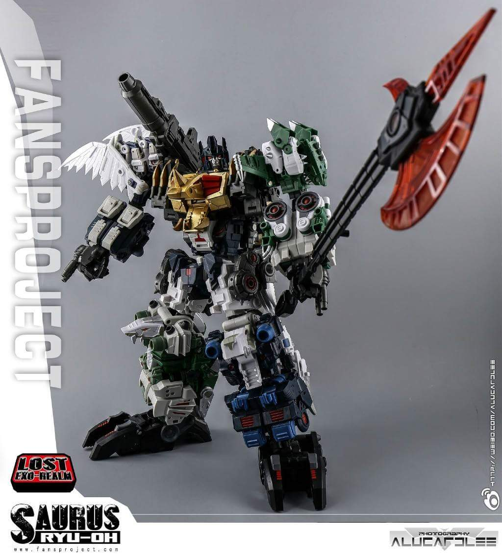 [FansProject] Produit Tiers - Jouet Saurus Ryu-oh aka Dinoking (Victory) | Monstructor (USA) - Page 2 ZTrLCaiD