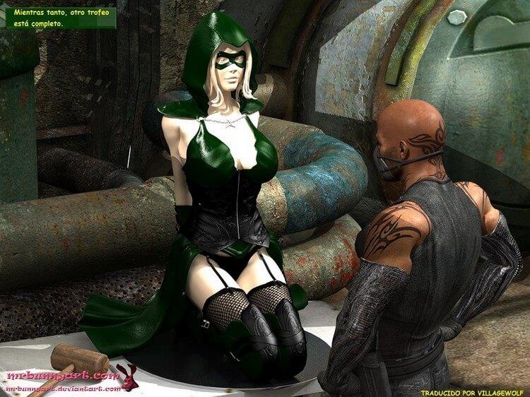 Miss Arrow vs Cain