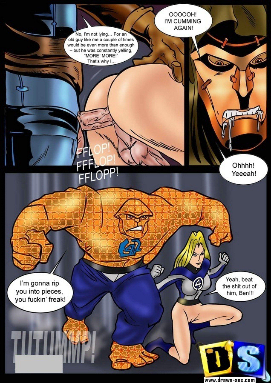 Fantastic 4 toon sex sex pic