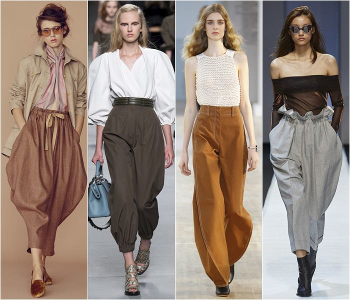 Oriental style pants spring/summer 2016