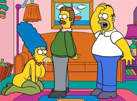 Mamada a Ned Flanders