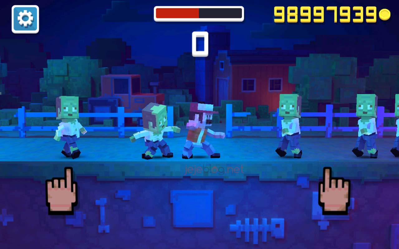 review game rush fight
