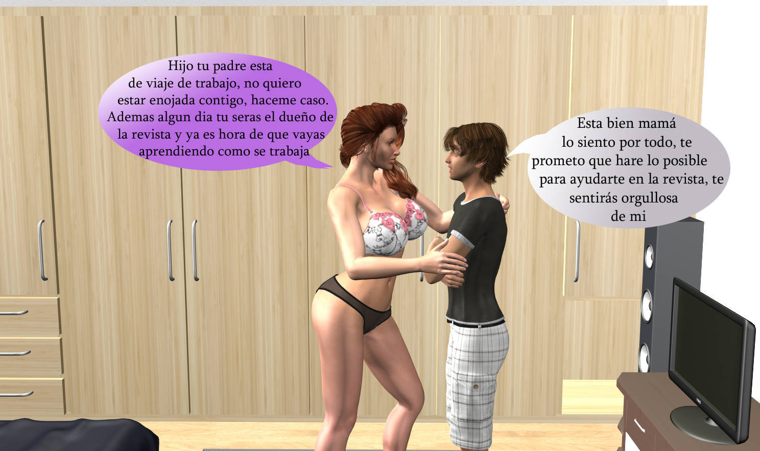 Aprendiendo Porno cosas que pasan,3d incest (spanish) ~ ver porno xxx comics