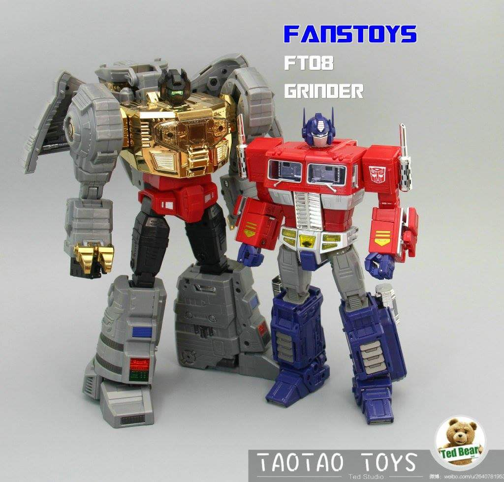 [Fanstoys] Produit Tiers - Dinobots - FT-04 Scoria, FT-05 Soar, FT-06 Sever, FT-07 Stomp, FT-08 Grinder - Page 10 SdBG4zTO